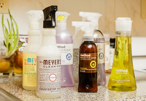 How using Green Cleaning Products helps to Save our Earth.